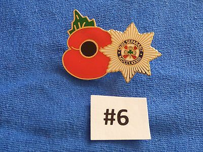 Irish Guards combined with a Poppy Badge, Militaria/Military Badges