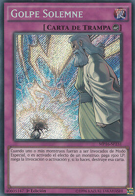 Yu-Gi-Oh! Mp16-Sp231 Solemn Strike Secret Rare
