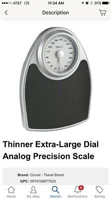 Thinner Extra-Large Dial Analog Precision Scale