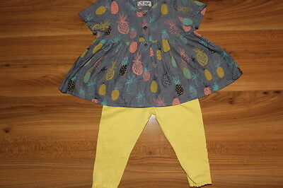 NEXT girls pineapple top outfit bundle 9-12 months *I'll combine postage