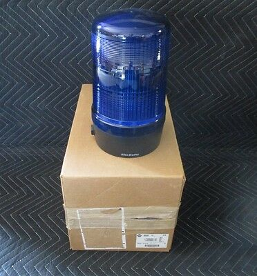 Allen Bradley 855BL-N10FH6 Flashing Beacon Blue new