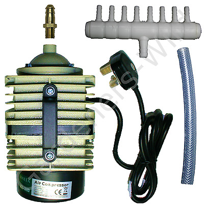 ACO388D AC80 HAILEA AIR PUMP 80L/m piston compressor hydroponic koi fish pond