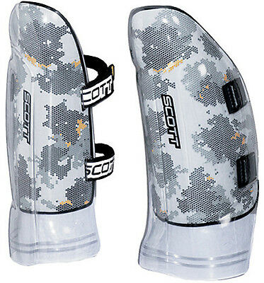 Scott World Cup Slalom Ski Racing Leg Guards Shin/knee Protector Pad Body Armor