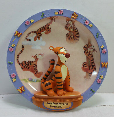 Bradford Exchange Winnie the Pooh 3D Plate, Some Days You Feel Confizzled