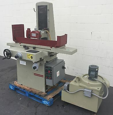 """KENT HYDRAULIC SURFACE GRINDER KGS-250 8"""" x 18"""" INDUSTRIAL"""