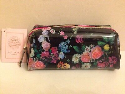 BNWT Ted Baker Small Wash Bag / Toiletry Bag / Make Up Bag - Floral