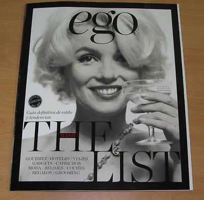 Last! Marilyn Monroe Ego Spain November 2016 Mark Vanderloo Charlotte Le Bon