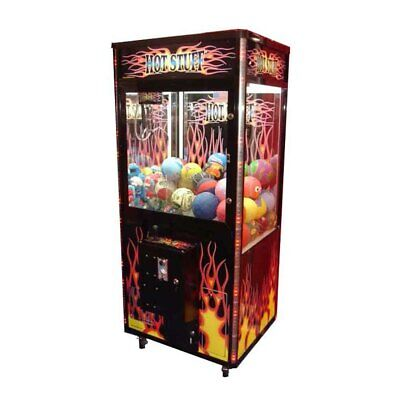 "Coast to Coast 31"" Hot Stuff Crane Arcade Machine Redemption Game No DBA"
