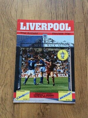 99) Liverpool  v Arsenal Title Decider Division One 26-5-1989