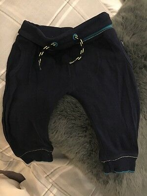 Boys Ted Baker 6-9 Months Baby Tracksuit Bottoms Navy