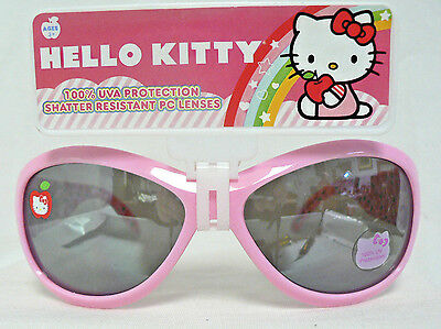 Hello Kitty Childrens Sunglasses by Sanrio Ages 3+ Pink
