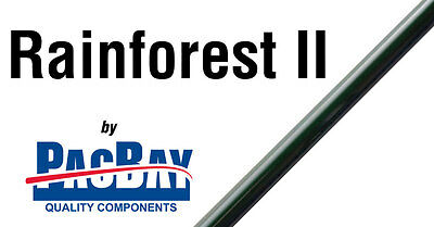Pacific Bay Rainforest II fly rod blanks 2 piece moderate action
