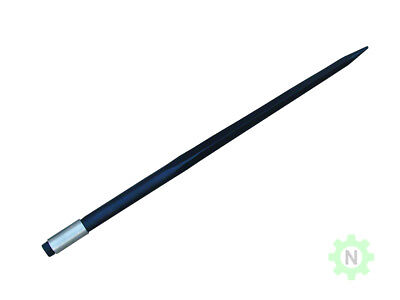 "39"" Conus-1  Hay Bale Spear  w/ Weld In Sleeve - BLK15#"