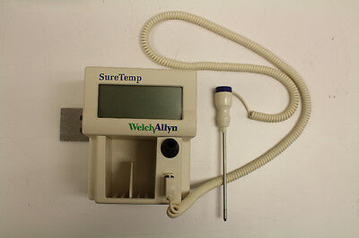 Welch Allyn SureTemp 76751 Rectal Thermometer - WORKS WELL