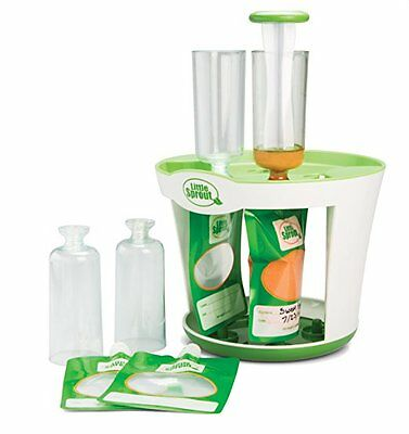 Baby Kids Food Maker Squeeze Disposable Pouches Fill Station make your own