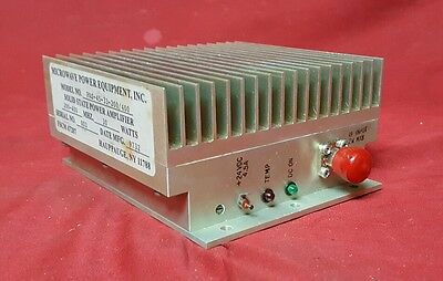 Microwave Power Equipment Solid State Power RF Amplifier, 200-400 Mhz 30W      B