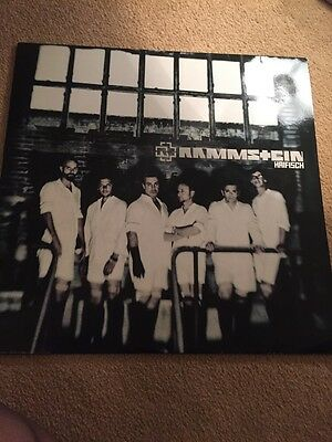 "NEW! RAMMSTEIN - HAIFISCH 12"" BLUE vinyl Picture  No 358 Record"