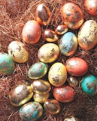 5 Colors Pearl Dye + Golden Shine Paint Dyeing Decorating Painting EASTER EGG