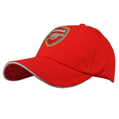 Arsenal Fc Gunners Red Colour Adult One Size Baseball Cap Hat New Xmas Gift
