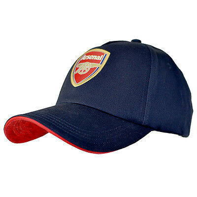 Official Arsenal Fc Gunners Navy Colour Adult Baseball Cap Hat New Xmas Gift