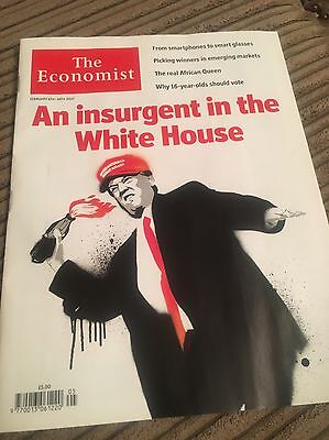 The Economist Magazine Issue 5 of 2017 February 4th to 10th