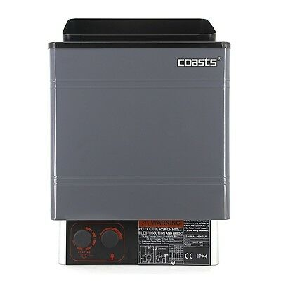 Coasts Sauna Heater 4.5KW 240V with CON 3 Outer Digital Controller for Spa Sauna