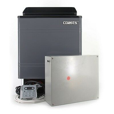 Coasts Heater 6KW 240V with CON 3 Outer Digital Controller for Spa Sauna Room