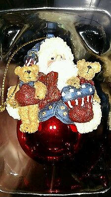 Boyds Collection Star Spangled Nick Christmas ornament