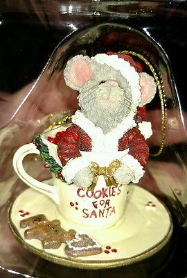 Boyds Collection Gingersnap - Cookies for Santa Christmas ornament