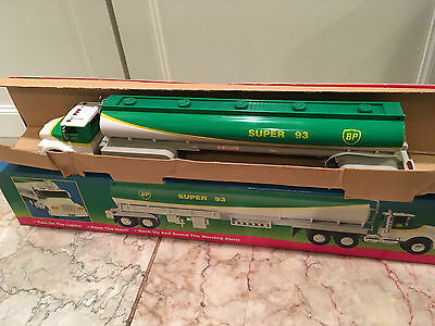 NIB 1994 BP Toy Tanker Truck Super 93 Limited Edition Gas Vehicle New in Box