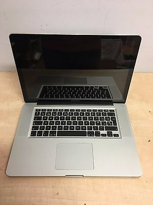 "Macbook Pro 15"" con GARANTIA A1268 Mediados 2009 Intel 4GB DDR3 500GB op.SSD"