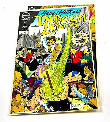 HEAVY HITTERS: DRAGON LINES #1, 2 EPIC, Marvel Comics, 1993 NM/VF