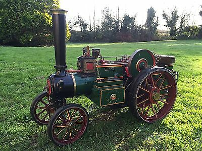 Live Steam 2'' Burrell Gold Medal Tractor
