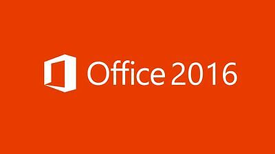 Microsoft Windows OFFICE 2016 PRO PLUS ESD 32/64 bit  ORIGINALE  multi