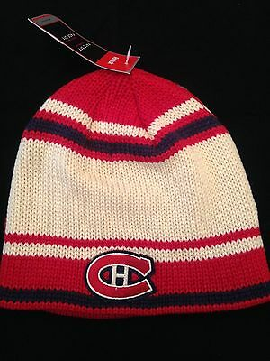 3dedb0dc483 Montreal Canadiens NEW Adult Winter Knit Hat . NHL Hockey Warm Cap NWT  Reebok