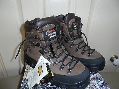 Zamberlan Leather Hiking Boots- Suit Ladies Size 7 To 7.5 - Made In Italy