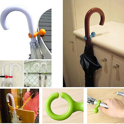 Good Plastic Umbrella Hanger Holder Stands Support Rack Mount Handy Useful Tools