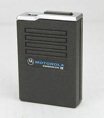 Motorola Dimension IV Tone & Voice Radio Pager Frequency 151.925 MHz
