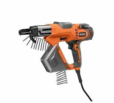 RIDGID 3 in. Drywall and Deck Collated Screwdriver Compact Design Power Tool