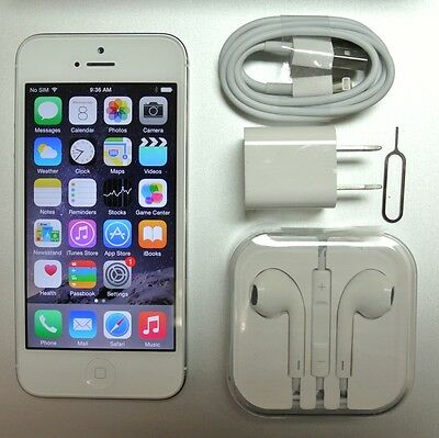 Apple iPhone 5 32GB White A1428 Rogers Chatr Canada LTE GSM 30 Days Warranty