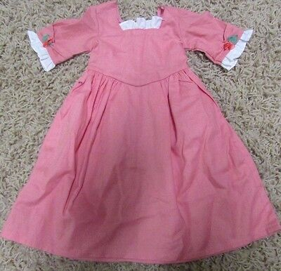 American Girl Felicity's Spring Birthday Pinner Dress, Pink Dress Only