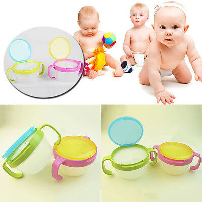 Baby Fashion Anti-spill Design Double Handle Bowl Boys Snack Cup Safe Pot
