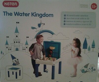 Keter Sand And Water Table Kids Garden Sand Table & Water Toy Play Set £15