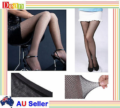 Lady Women Mesh Fishnet Stockings Jacquard Pantyhose Waist High Tights NEW BULK