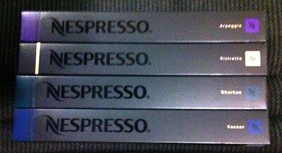 40 Nespresso Capsules pods strong and intense - SAVE $5 WHEN YOU BUY 2 OR MORE