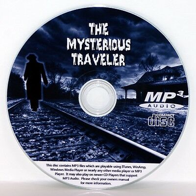 The Mysterious Traveler - OTR - Old Time Radio - All Known Episodes MP3 CD
