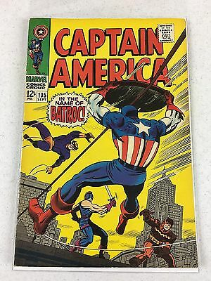 Marvel Captain America 105 F/VF to VF - Estate Listing (115)
