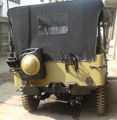 Stitched Soft Top For Jeep Ford Willys Mb Gpw 1941-1948