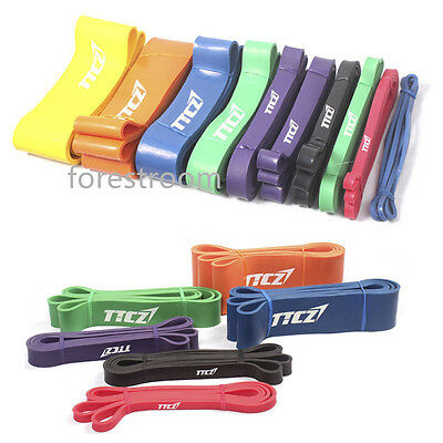 Pull Up Resistance Bands Exercise Loop Crossfit Strength Training Fitness Yoga