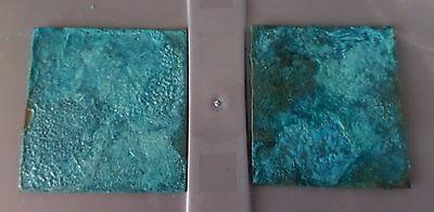 Blue Green Patina Solution for Copper, Brass or Bronze, 15, 30, 45 or 120ml